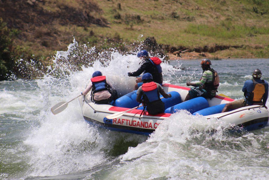 white water rafting- Best things to do in Uganda