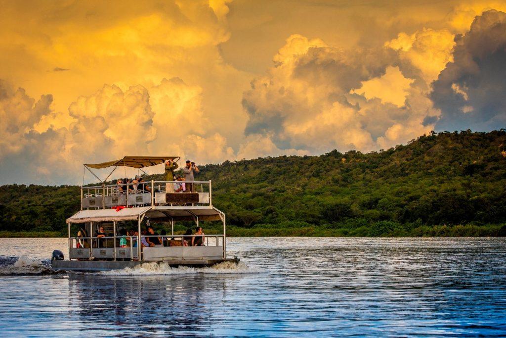 Boat safaris- Best things to do in Uganda